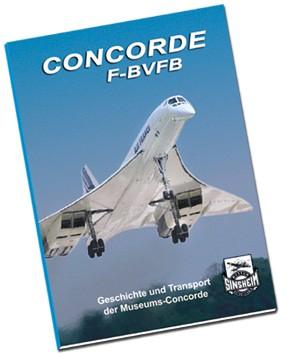 Broschüre - Concorde F-BVFB