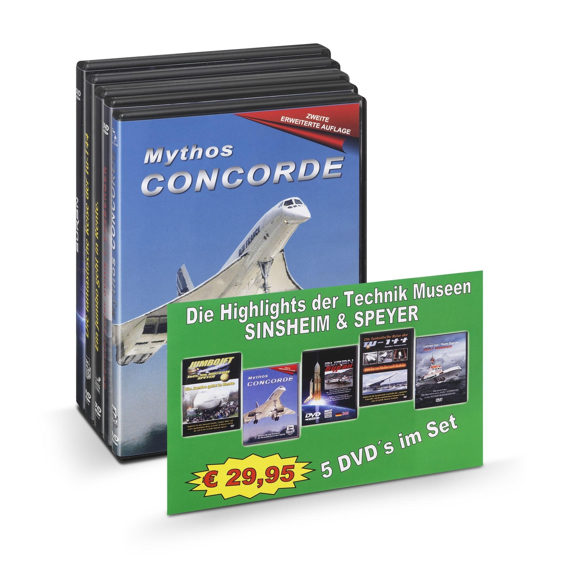 DVD: 5er Pack