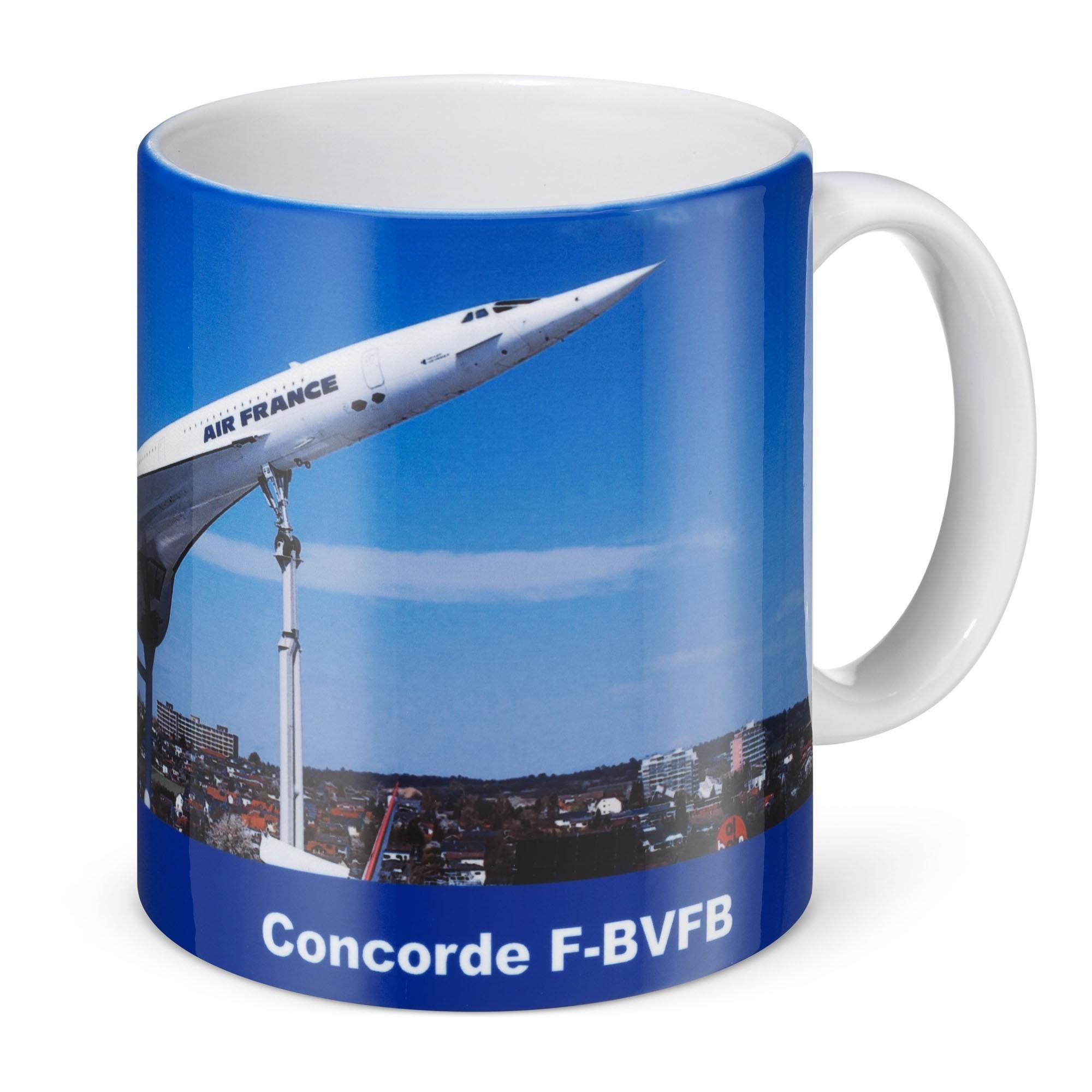 Fototasse Concorde / Tupolev