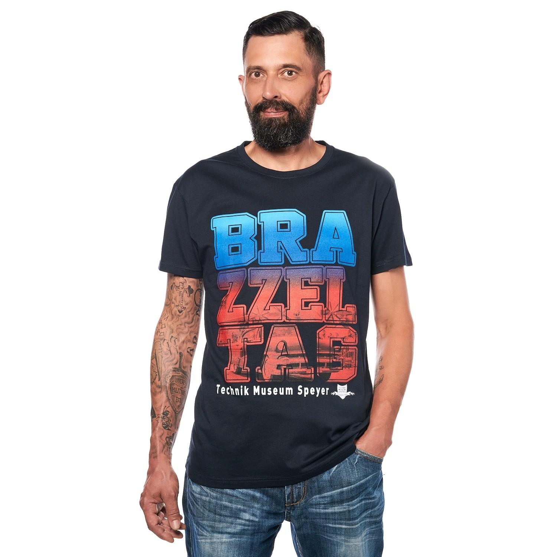 Brazzeltag - T-Shirt blau