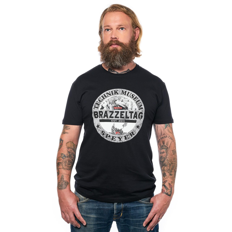 Brazzeltag - T-Shirt schwarz