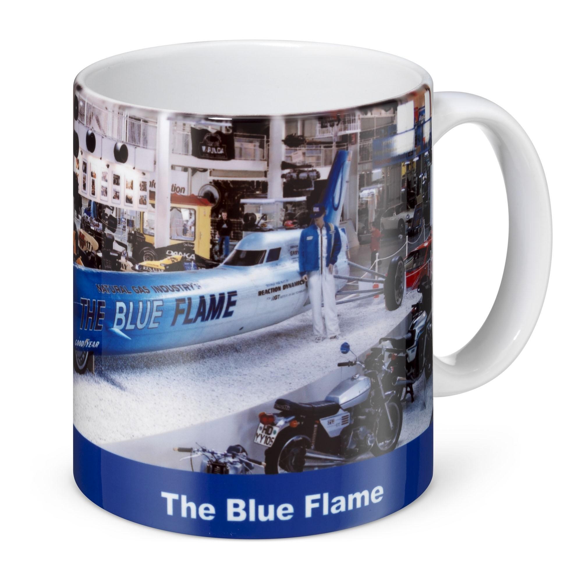Fototasse - Blue Flame