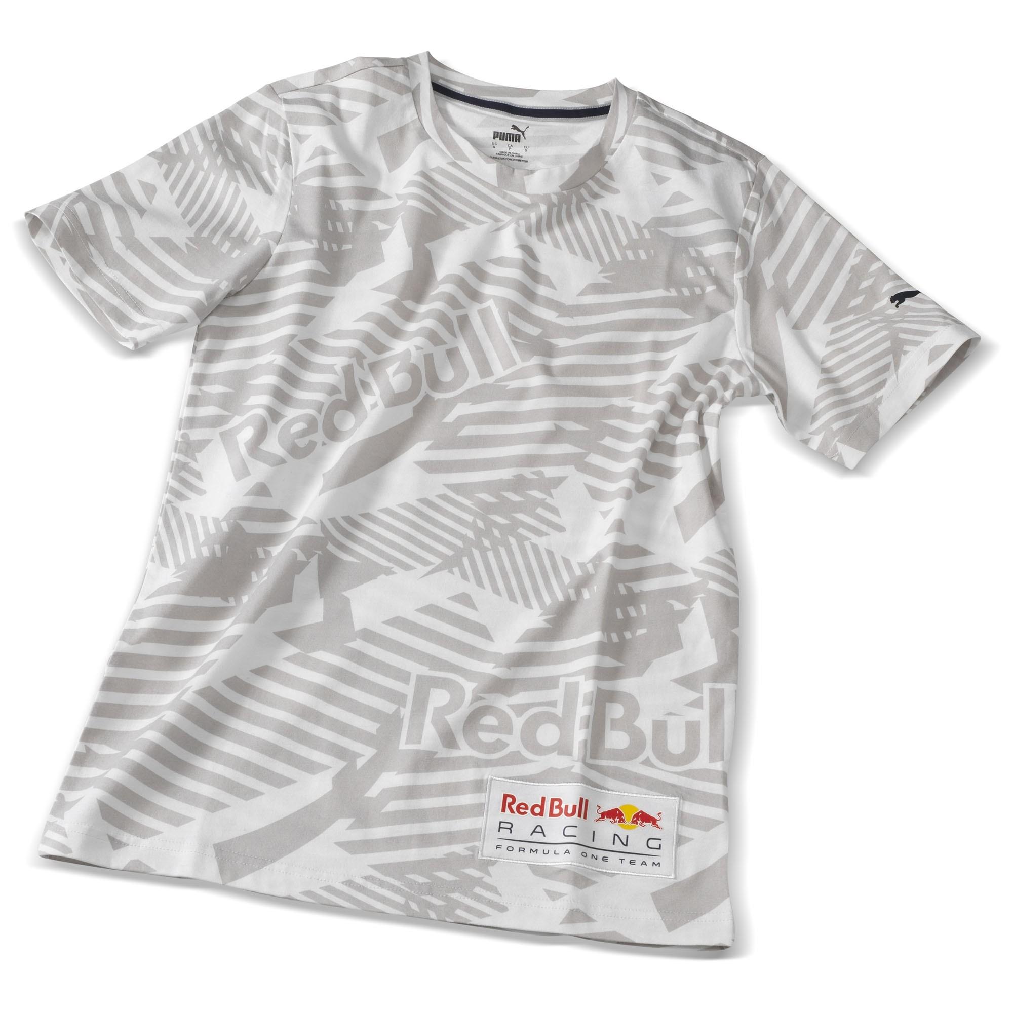 Red Bull Racing Shirt weiß / grau