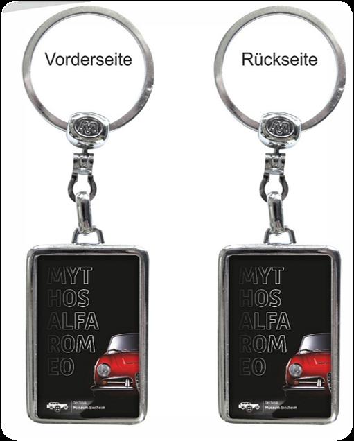 Schlüsselanhänger - Mythos Alfa Romeo