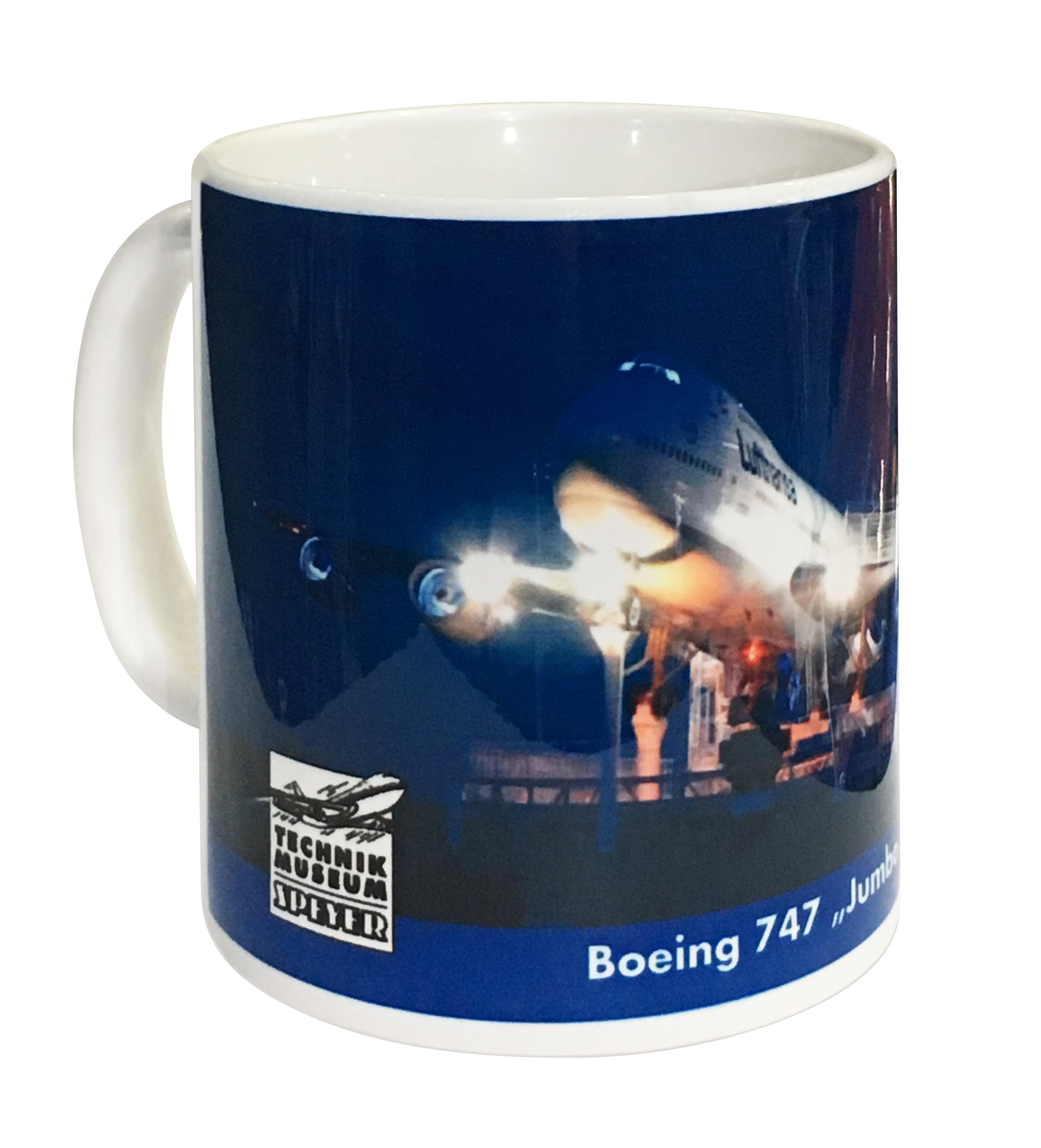 Fototasse Boeing 747