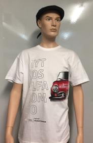 Herren Shirt weiß - Mythos Alfa Romeo