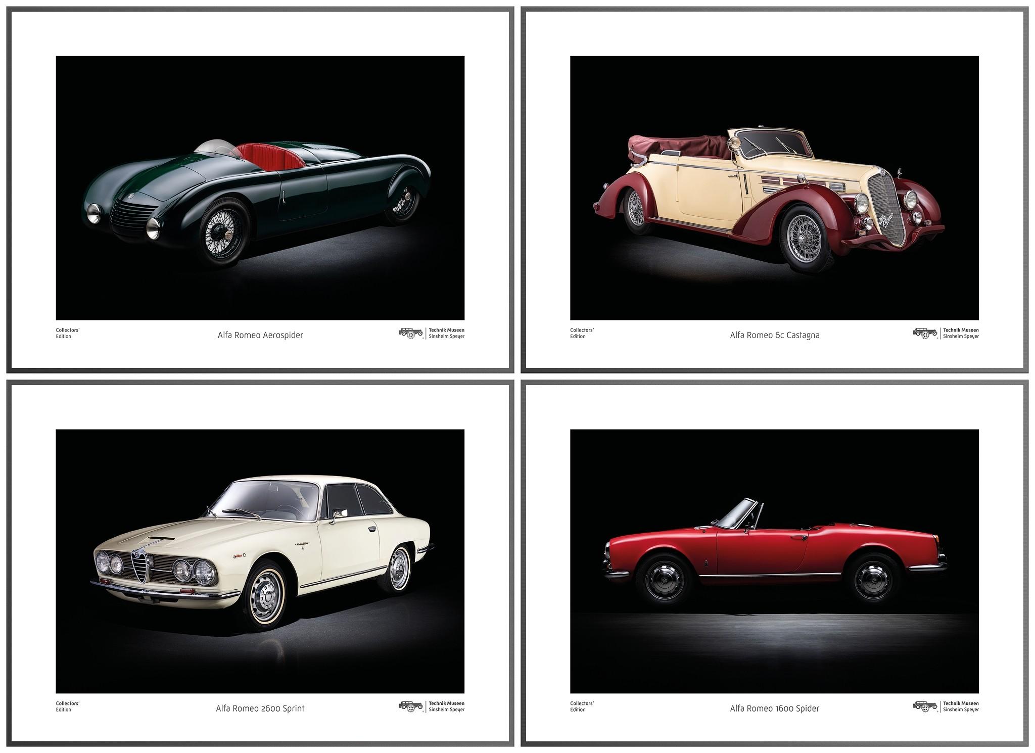 Posterset Collectors' Edition ›› Alfa Romeo ‹‹