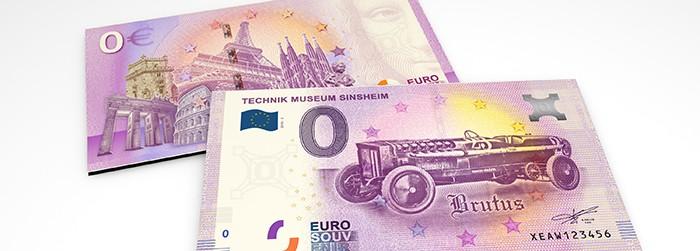 0-Euro Souvenirschein Technik Museum Sinsheim - BRUTUS