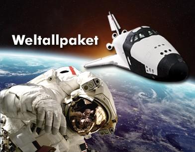 """Pauschalpaket """"Weltall"""""""