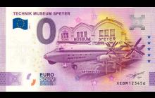 0-Euro Souvenirschein Technik Museum Speyer - Antonov AN22 - ANNIVERSARY EDITION