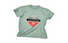 T-Shirt grün - Museum Sinsheim