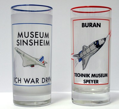 Longdrink Glass - Concorde & Buran
