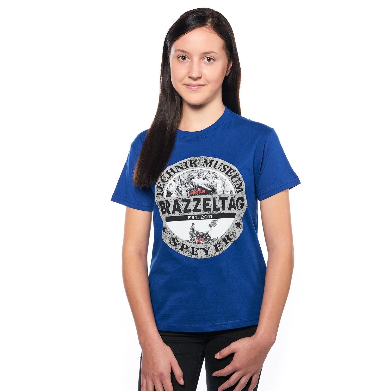 Brazzeltag - Kids shirt blue
