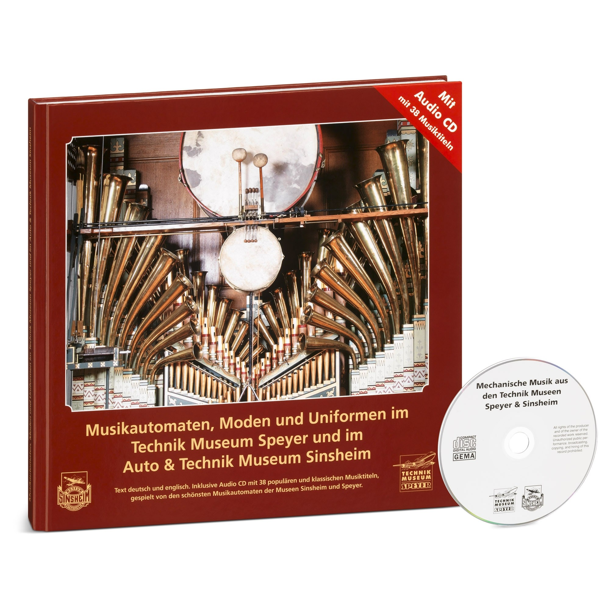 Musicbook with Audio-CD