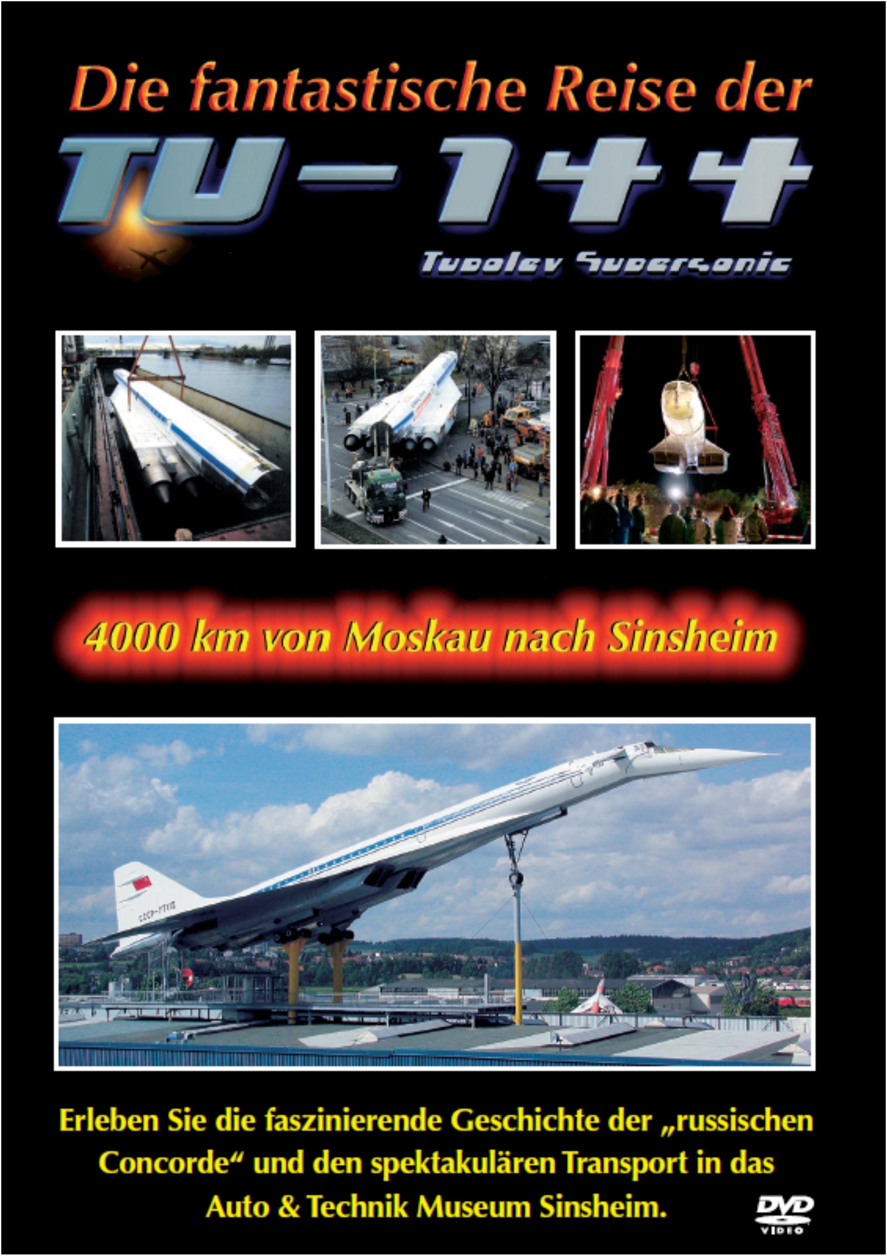 DVD: Tupolev TU-144