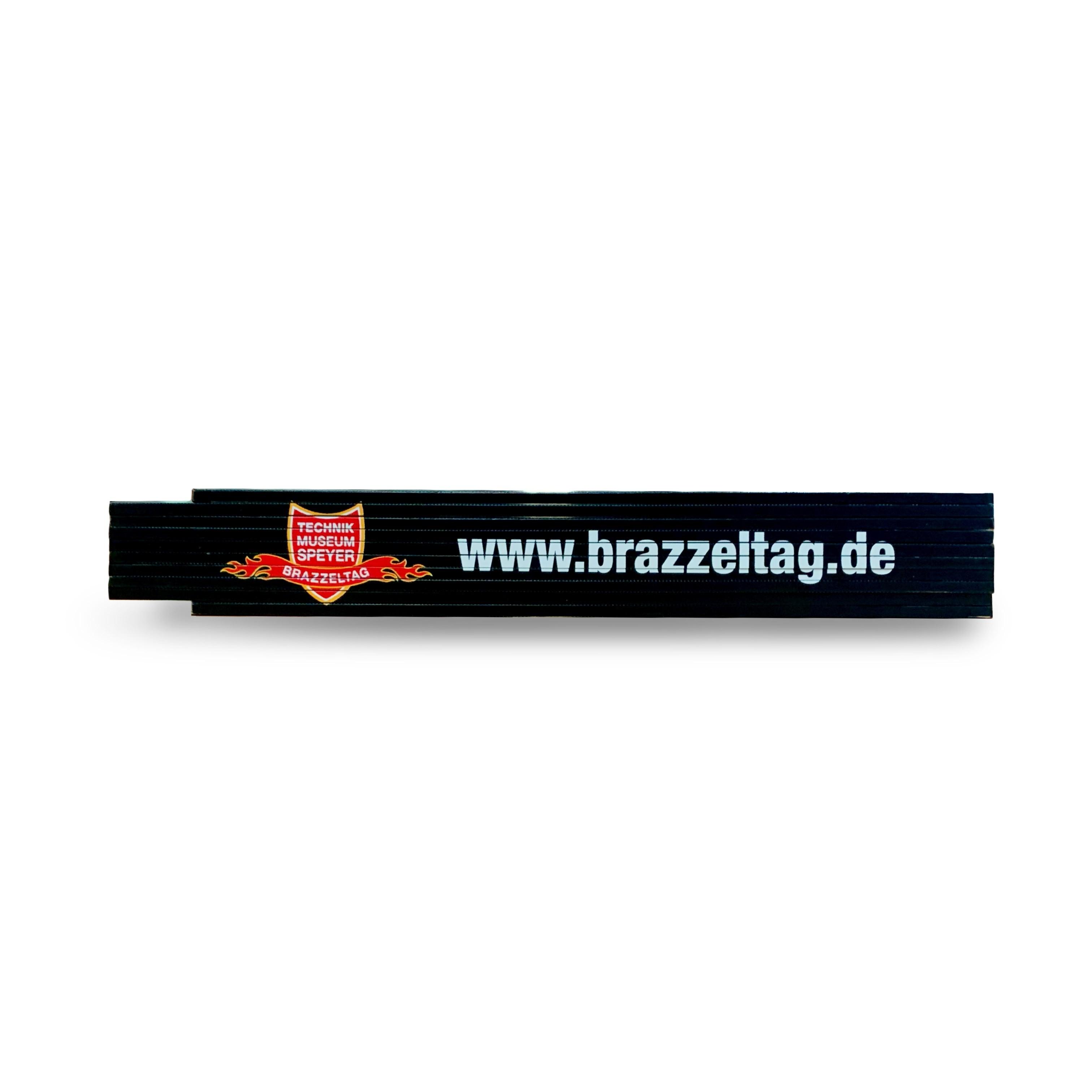 Brazzeltag - measuring stick