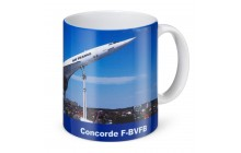 Photo mug Concorde / Tupolev