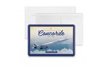 Metal card - Concorde