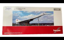 Herpa Pre-Built Model Tupolev TU-144D Aeroflot 1:200