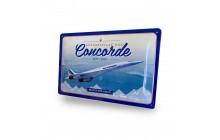 Tin sign - Concorde