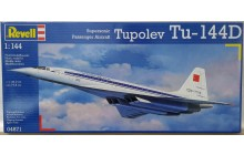 Revell Model Kit - Tupolev TU-144D 1:144